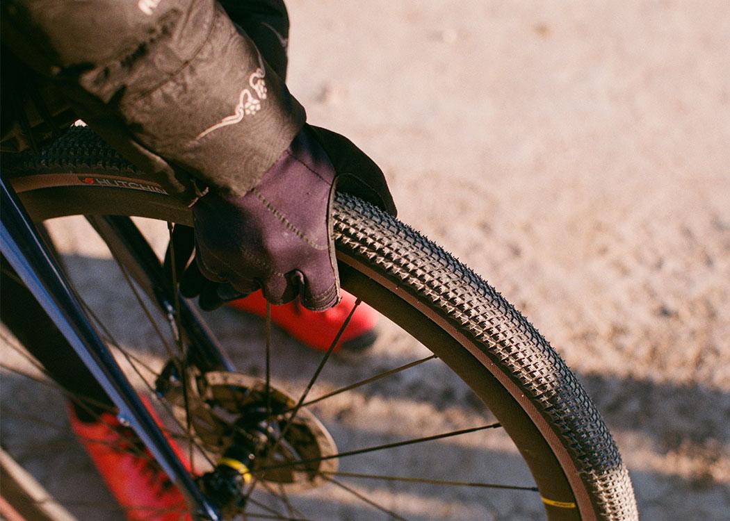 Hutchinson Touareg Gravel Bicycle Cycle Bike TR HS Tyre Tan