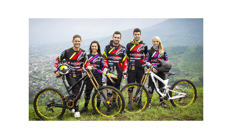Hutchinson becomes the first and only tire maker with its own downhill team : Hutchinson UR.